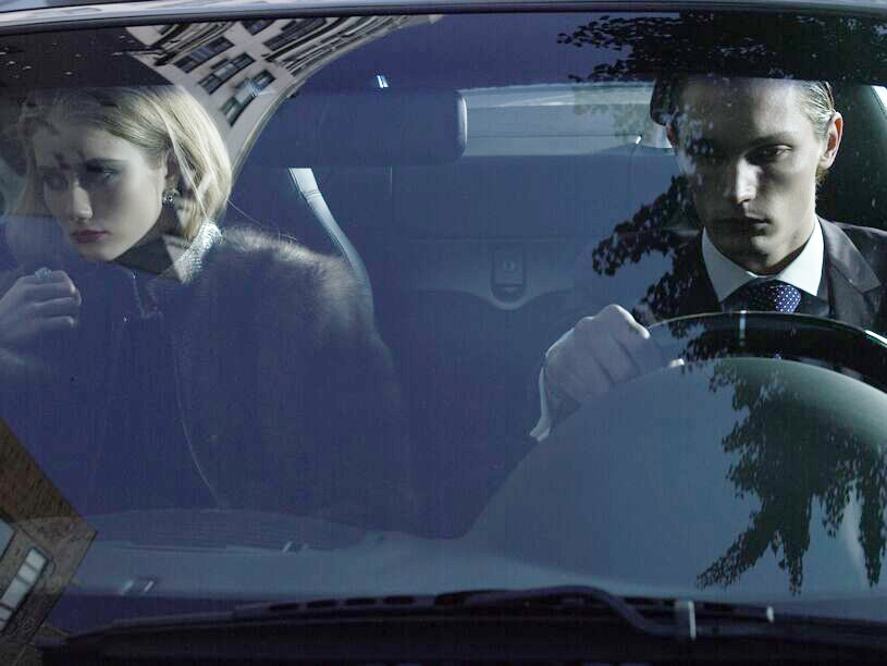 Carlyle Maserati Couple In Car